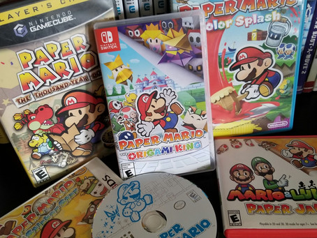Paper Mario: The Origami King and everything in between