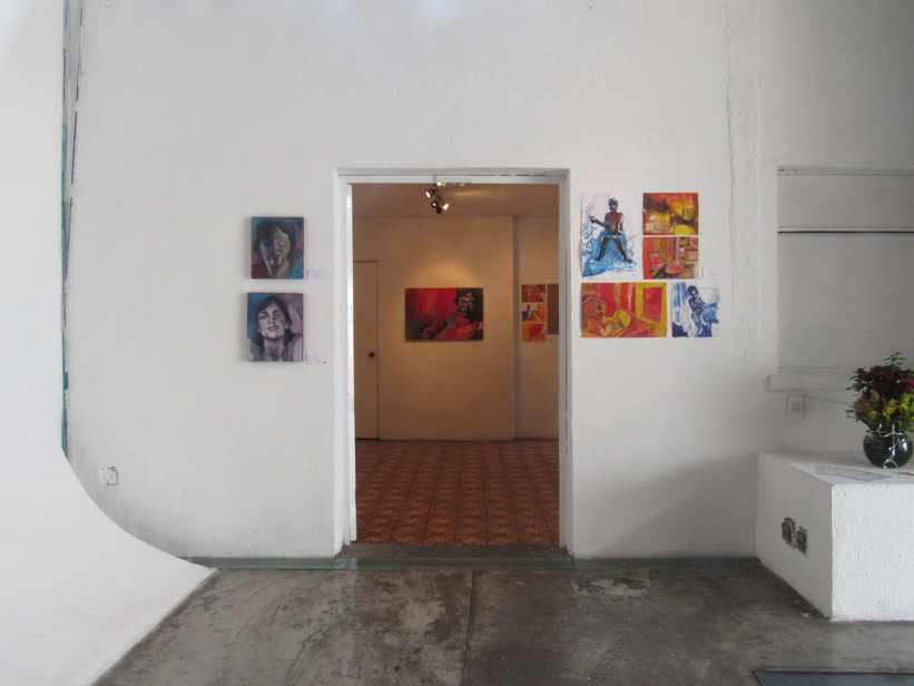 """Exposición """"Sala de estar"""""""