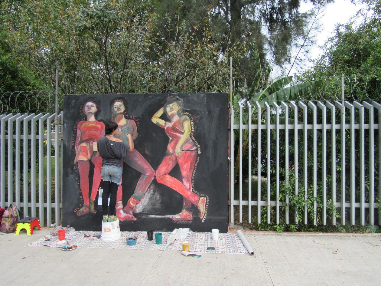Pinta de mural 2015