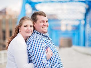 REBECCA & ADAM, ROMANCE IN BLUE
