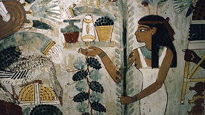 egypt--thebes--tomb-of-nakht--banquet-sc