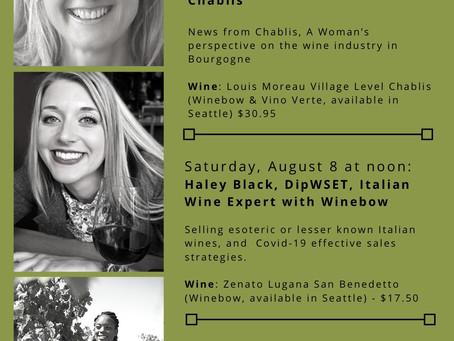 Fierce Women in Wine Interviews on Instagram Live!