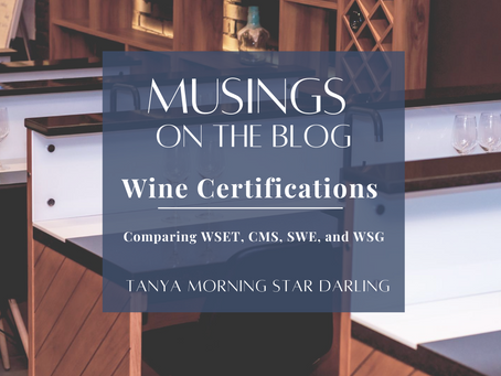 Wine Certifications Comparisons...How do they stack up, and which path is right for you?