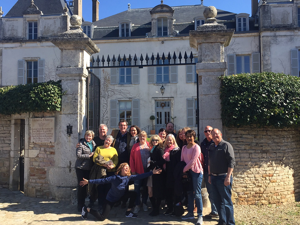 It was a dream-come true to lead 14 of my favorite people and devoted students of wine, on a week long exploration through the wines of Bourgogne! We visited so many producers, large and small, historic, and up-and coming, walked the vineyards, enjoyed Master Classes from some of the world's best Bourgogne wine educators, ate some AMAZING meals (including a Michelin Lunch & one Dinner), and tasted approximately 250 wines.  It was a joy, and an honor to share! Can't wait to do it again! Follow me on Facebook, or Instagram for more detailed stories from this trip, and other adventures in wine @ Cellarmuse