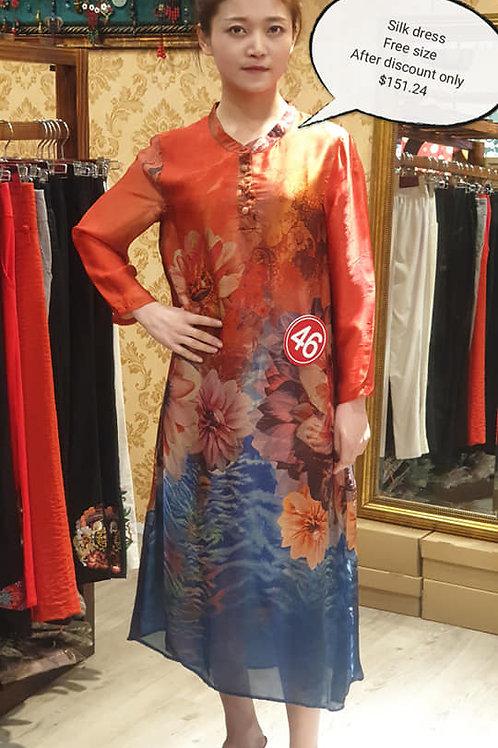 真丝连衣裙(Silk Dress)
