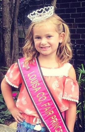 Peyton Salazar, 2019 LCF Princess