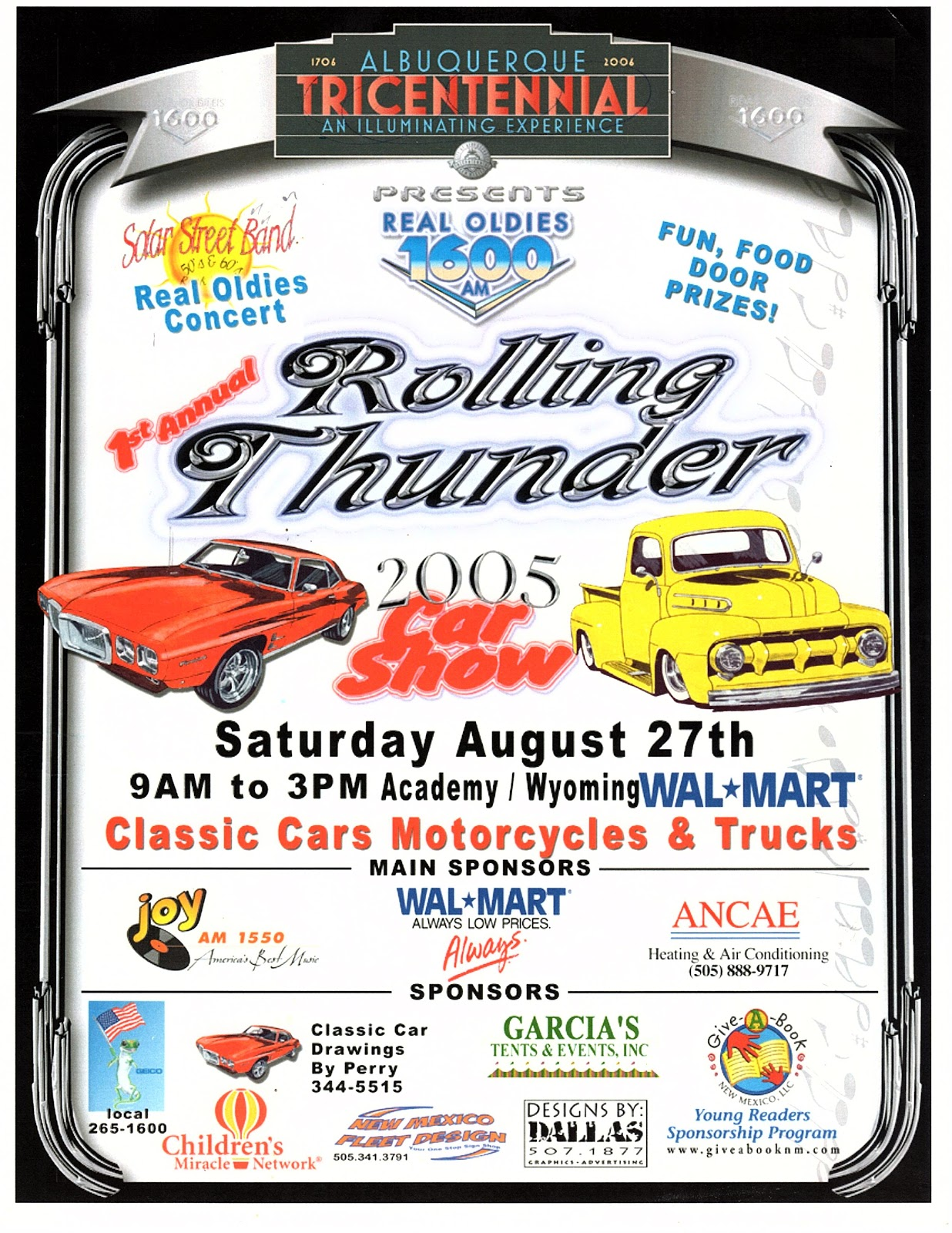 1st Annual Rolling Thunder at the Unser Racing Museum