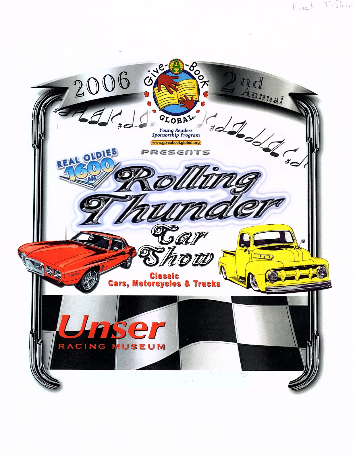 2nd Annual Rolling Thunder at the Unser Racing Museum