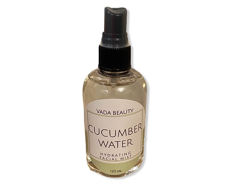 hydrating facial mist - cucumber water