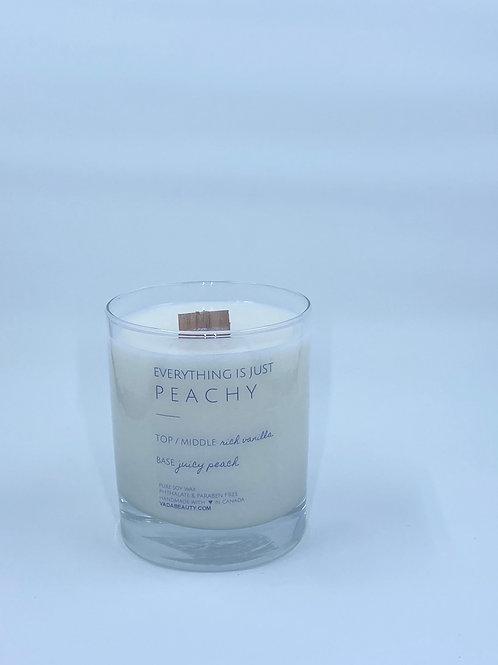 peaches + cream