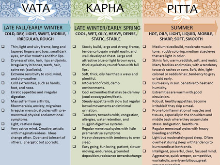 Intro to Ayurveda & Where The Name Vada Beauty Comes From..