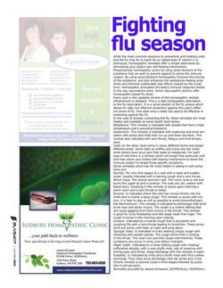 Fighting flu season