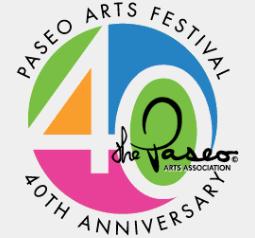 Paseo Arts Festival 40th Anniversary