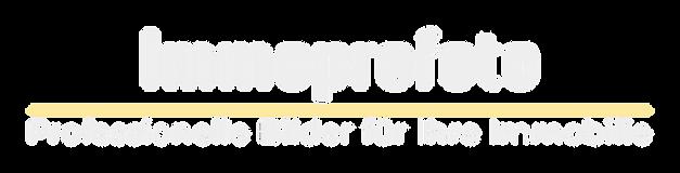 Immoprofoto professionelle immobilien fotografie logo