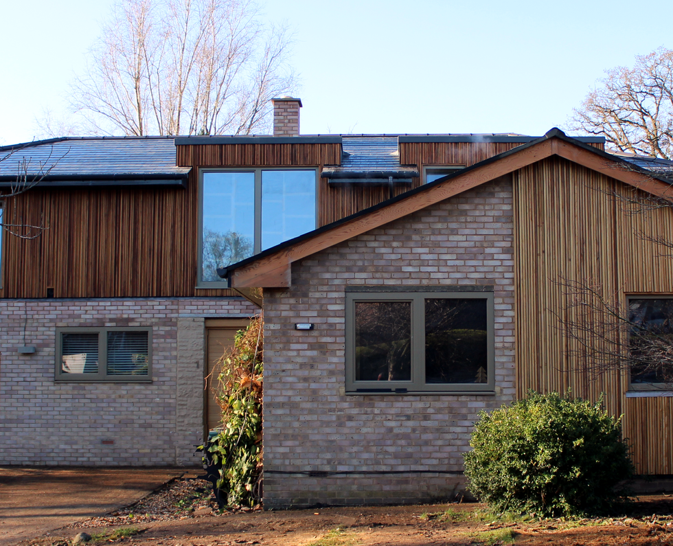 Little Hill, exterior completed