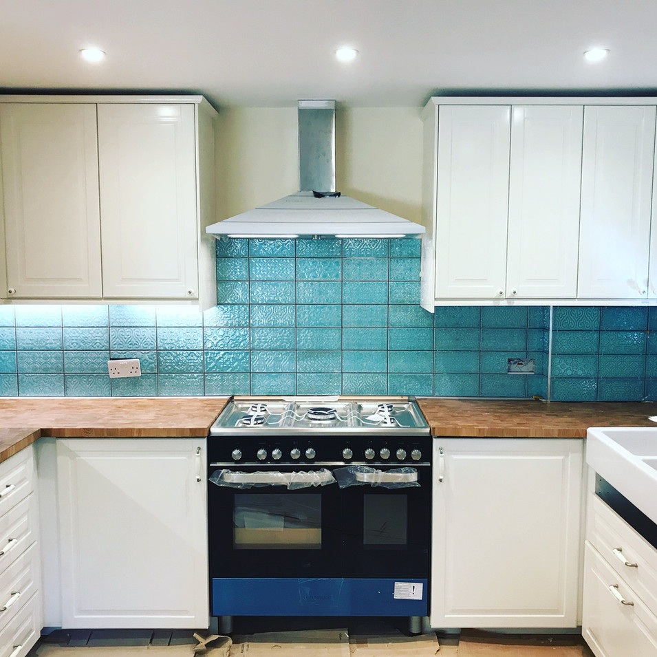 Fitted kitchen at Spring Park