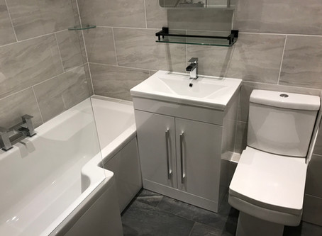 Tips and advice on tiling a bathroom