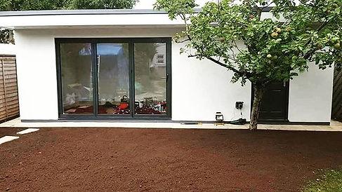 Summer house _#office #studio #summerhouse #outbuilding #project #build #cleanfinish