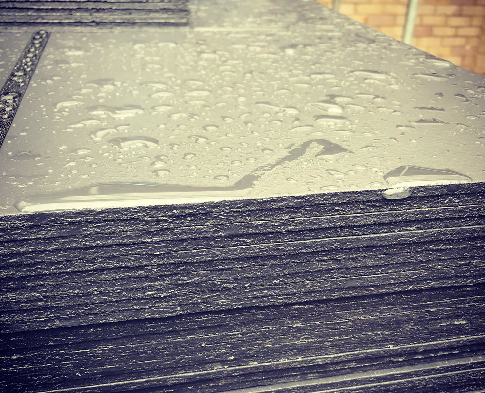 Little Hill, Grey Slate Tiles
