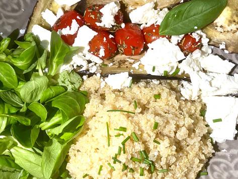 Quinoa végétarien