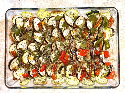 Tian de légumes méditerranéen