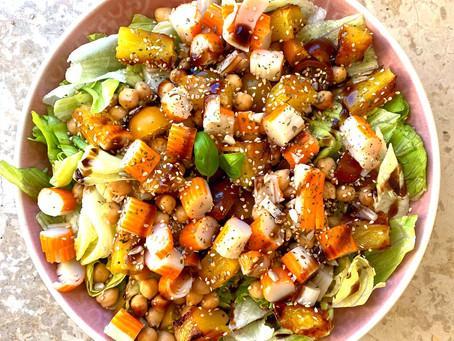 Salade sucrée salée