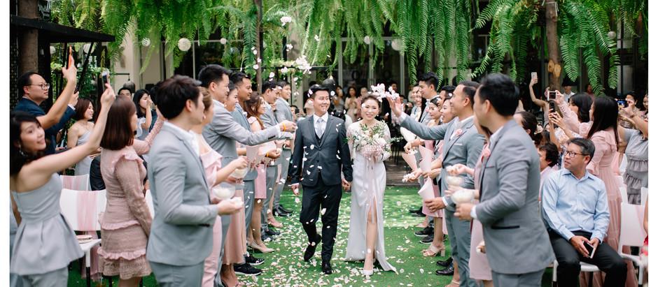 Tarn & Tong Wedding in The Garden