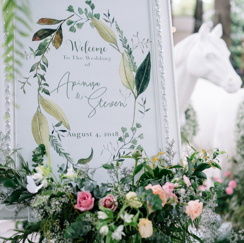 Wedding @ Bangkok Garden