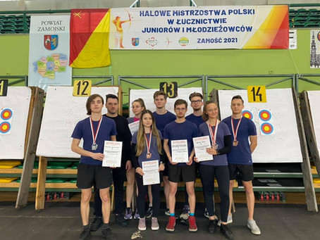 3 medale Mistrzostw Polski