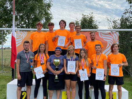 Sukces w Mistrzostwach Polski Juniorów