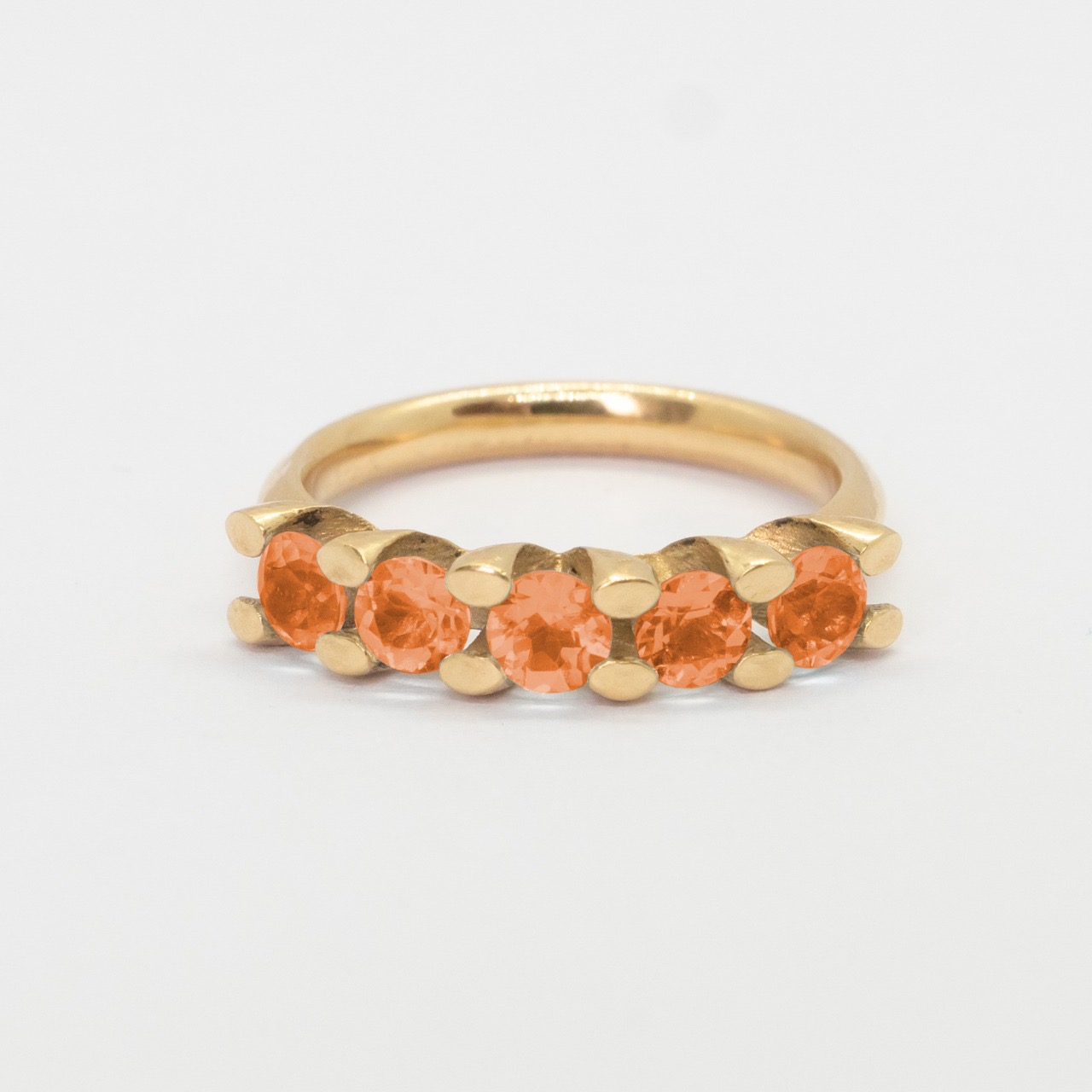 Ring Dia - Funcy Tourmalijn