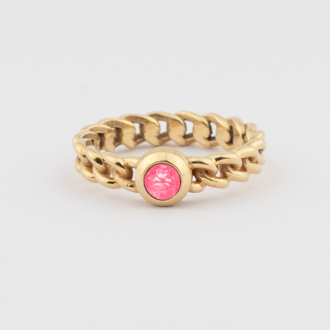 Elo Ring - Rose Tourmalijn