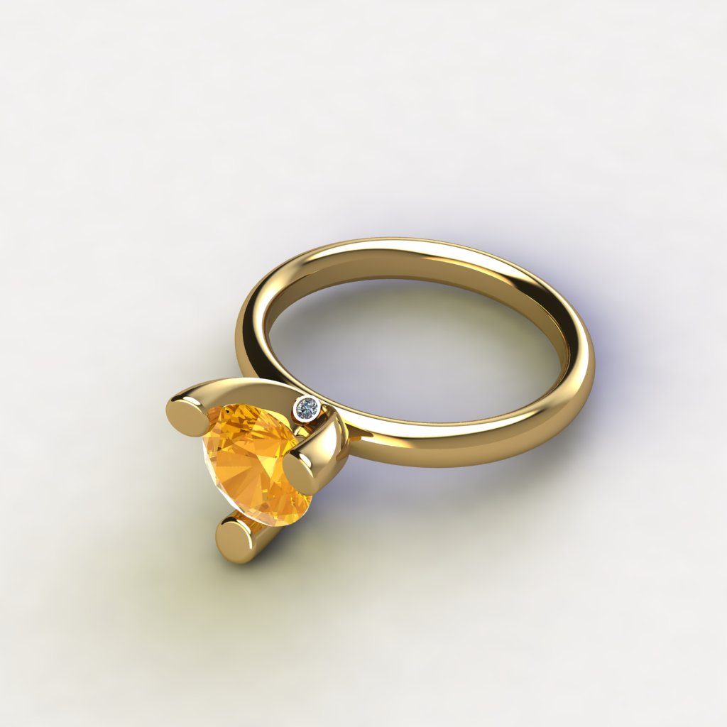 VRog Ring - Citrien