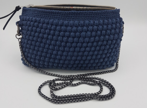 light navy with chain