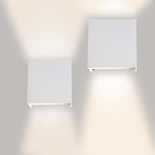 Cubo Wall Lamp (White-IP65)