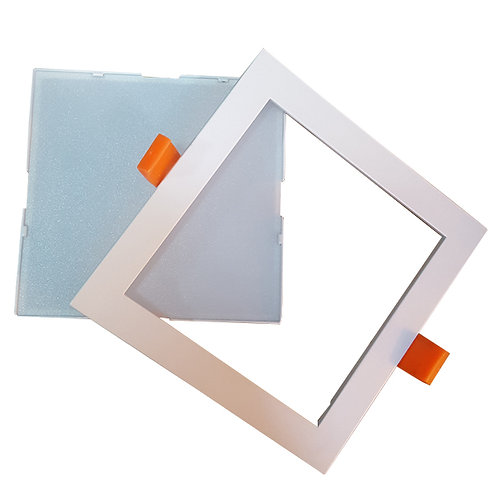 Removable Frame Downlight (12W/Square/Tri-color)