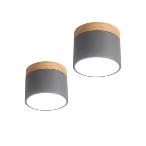 Ame Ceiling Lamp (Grey)