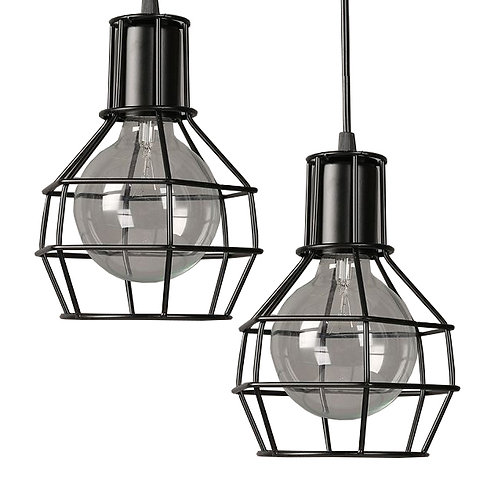 Caged (Black) Bulb