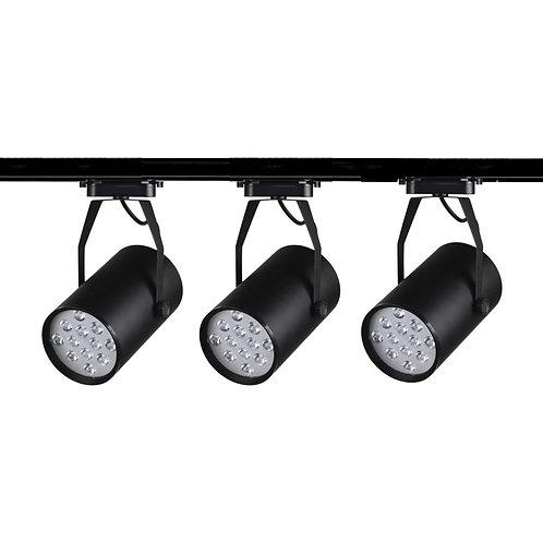 Cluster LED Tracklight (Black)