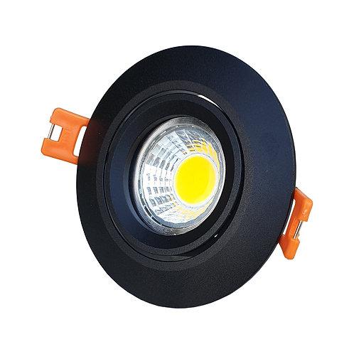 Essential Spotlight (Black/Round)