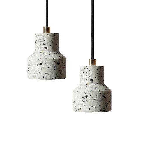 Beton Pendant Lamp (Pearl Grey)