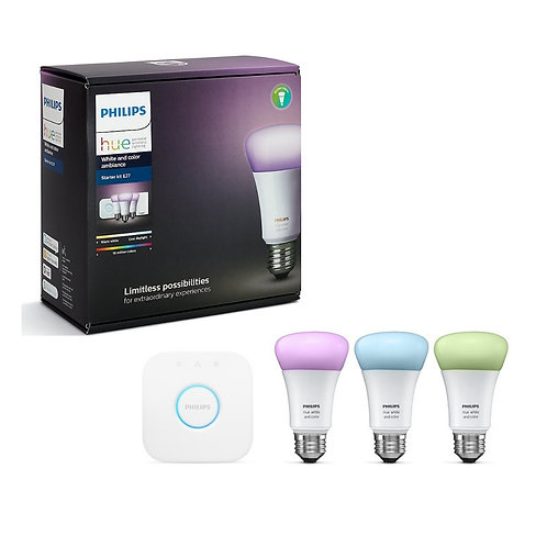 Philips Hue White and Color Ambiance Starter Kit G3