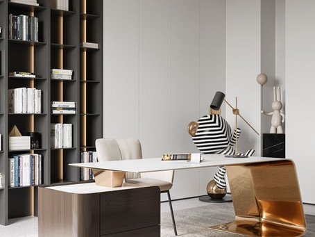 10 WAYS TO ELEVATE YOUR WORKING-FROM-HOME SPACE.
