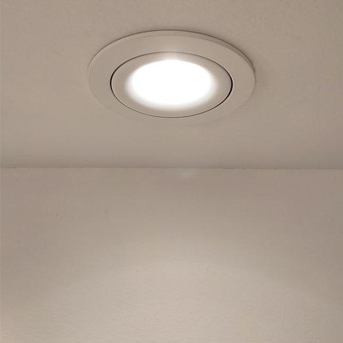 Soleil Spotlight (White/Round)