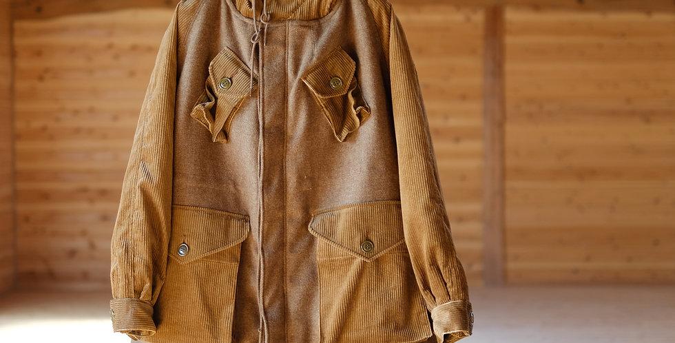【H.UNIT】C/W Combat coat Beige