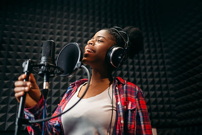 Female performer songs in audio recordin