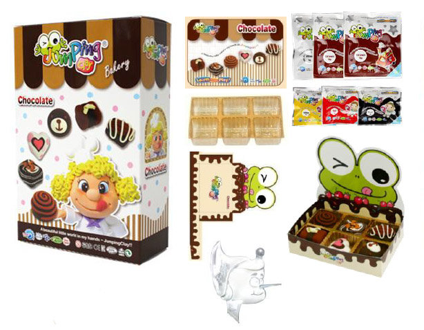 Jumping Clay Bakery Series -