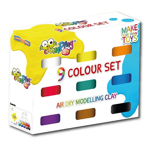 JumpingClay 9-Colour Set