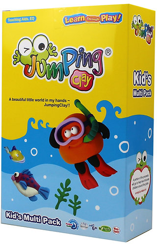 Jumping Clay Kids Multi Pack