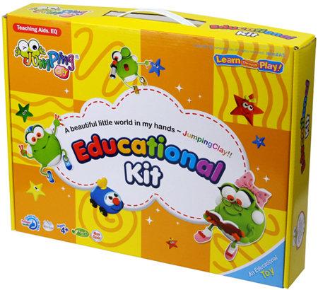Jumping Clay Educational Kit